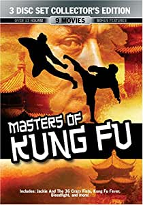 Masters Of Kung Fu 3 Disc Collector's Edition