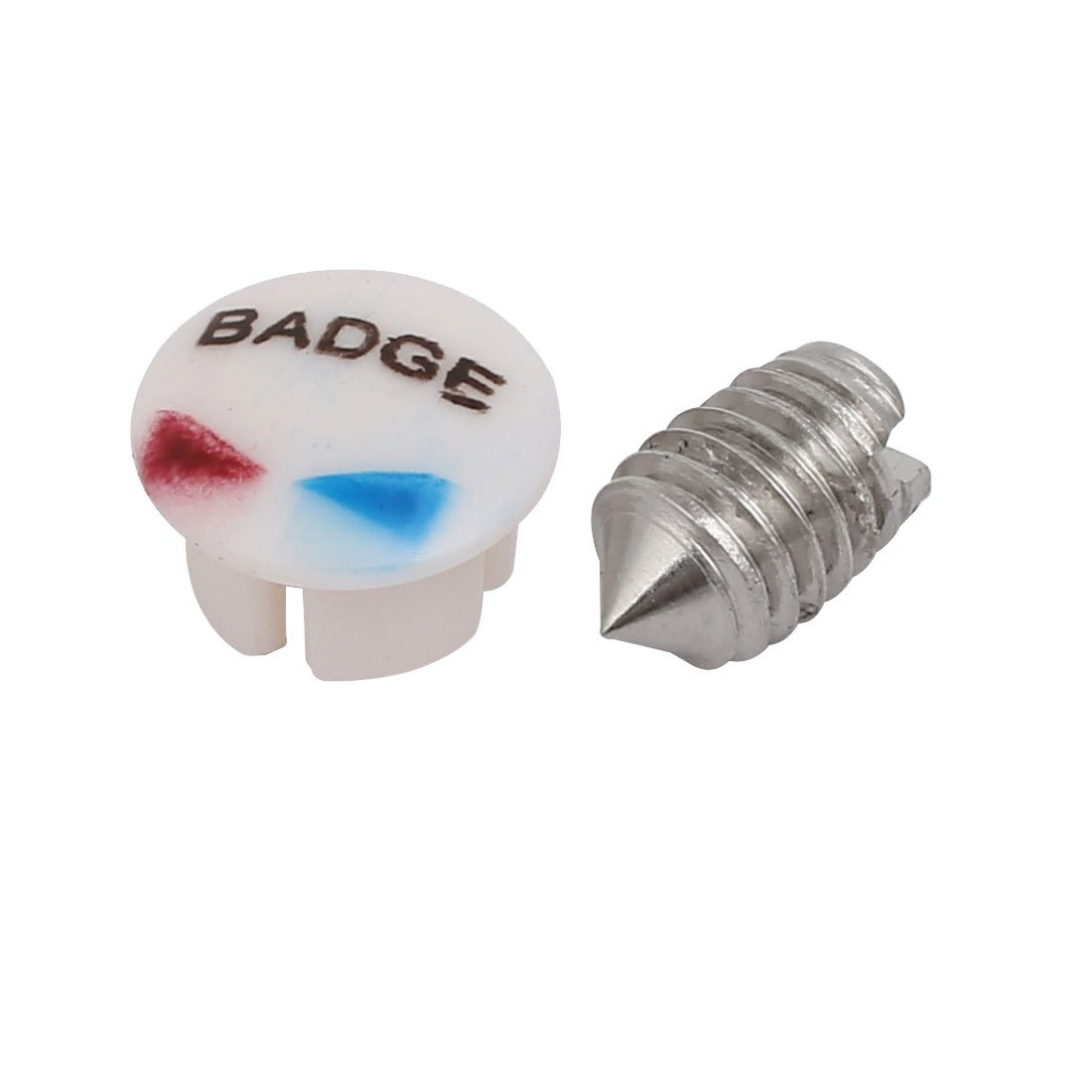 sourcingmap/® 120mmx50mmx35mm Faucet Zinc Alloy Chrome Plated Single Lever Handle Knob w Screw