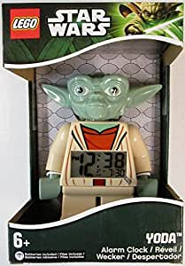 LEGO Unisex Star Wars Yoda Mini-Figure Alarm Clock