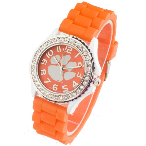 (CLEMSON UNIVERSITY TIGERS WATCH-CLEMSON UNIVERSITY LADIES JELLY WATCH)