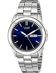 Citizen Mens Quartz Watch with Day/Date, BF0580-57L