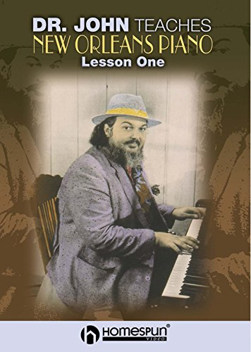 Dr. John Teaches New Orleans Piano - Vol 1 [Instant Access]