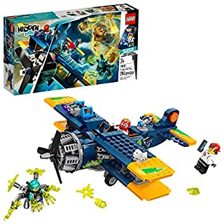 LEGO Hidden Side El Fuego's Stunt Plane 70429 Ghost Toy, Cool Augmented Reality, New 2020 (AR) Play Experience for Kids (295 Pieces)