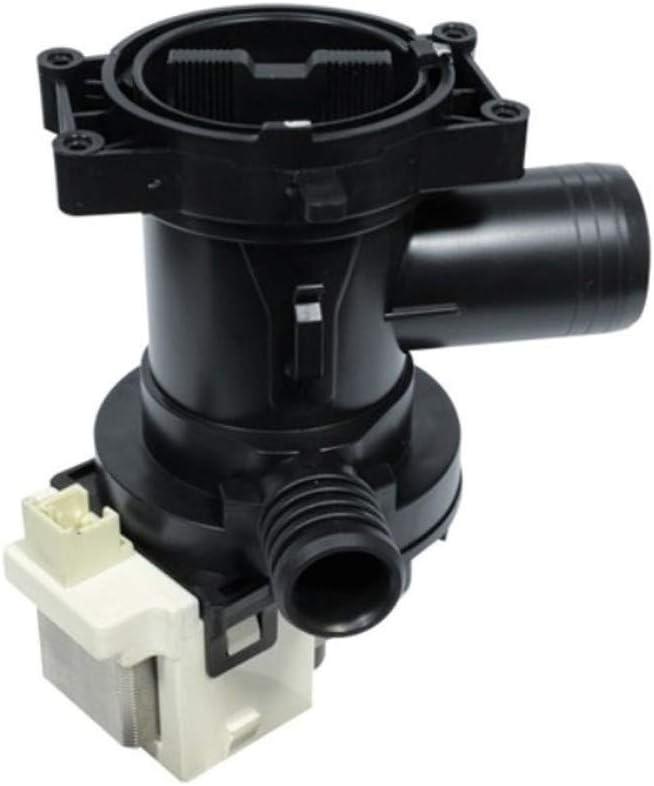 Bomba de desagüe de agua con filtro para lavadora Whirlpool Ignis 481010584942