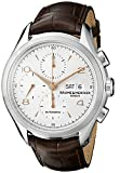 Baume & Mercier Men's BMMOA10129 Clifton Analog Display Swiss Automatic Brown Watch
