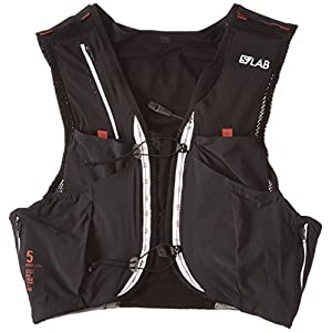 Salomon S-Lab Sense Ultra 5L Hydration Vest Black/Racing Red, M