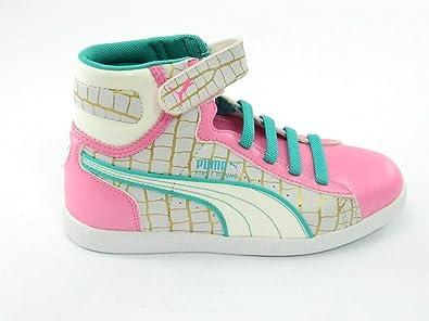 31ae3b999150bb Puma - Puma First Raund sneakers kinderschuhe rosa himmelblau - Rosa ...