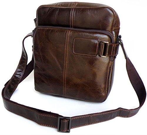 Zenness hombro del cuero genuino del bolso del mensajero de la taleguilla del bolso del monedero del bolso de Crossbody