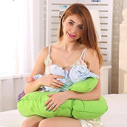 LUOTIANLANG Multifuncional bebé almohada almohada cojin ...