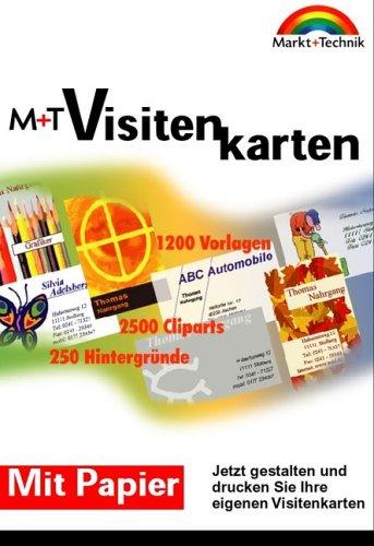 M T Visitenkarten Jetzt Gestalten Und Drucken Sie Ihre