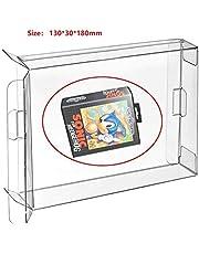 WiCareYo 10pcs Carts Clear CIB Game Cartridge Box Case Protector Sleeve for Genesis MD Mega Drive 32 X Box Protectors