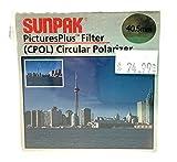 Sunpak Pictures Plus 40.5mm Circular Polarizer Filter