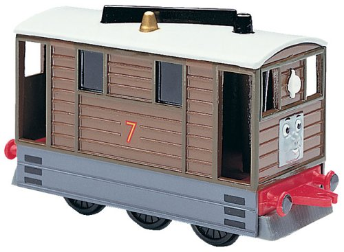 Diecast Train Engine - Shining Time Thomas The Tank Engine Station Toby diecast Train