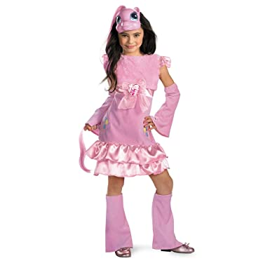 Amazon.com: My Little Pony Pinkie Pie Deluxe, Child (3T-4T): Clothing