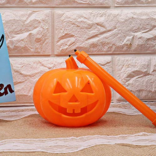 Iusun Halloween Pumpkin Light, Creative Pumpkin Lamp Voice-Activated Flashing Decor LED Pumpkin Lantern Kids (Orange) ()