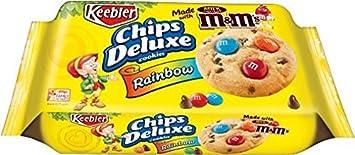 amazon com 2 pack keebler chips deluxe cookies rainbow 11 3 oz