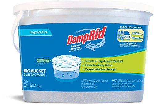 DampRid FGAM50 Moisture Absorber, 2.5-Pound