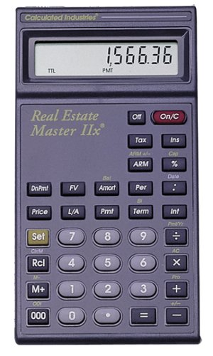 Calculated Industries 3235 Real Estate Master Iix