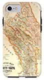 """iPhone 8 Case """"Napa Valley Map"""