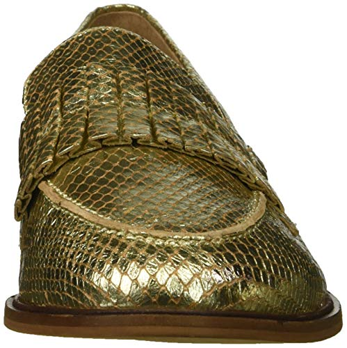 Powerful Seychelles Women's Gold Exotic Loafer 7wPxUR5wq