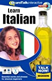 Talk Now Learn Italian: Essential Words and Phrases for Absolute Beginners (PC/Mac)