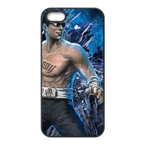 U4M28 Mortal Kombat G1M3ZD coque iPhone 4 4s cellule de cas de téléphone couvercle coque noire XB6EJV2ZU