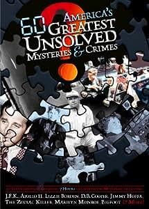 America's 60 Greatest Unsolved Mysteries & Crimes [Reino Unido] [DVD]