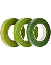 eBoot 3 Pack Floral Tape Stem Wrap 1/2 Inch x 30 Yards