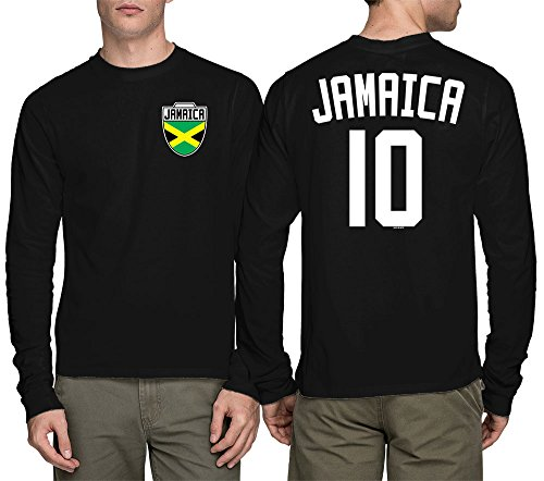Long Sleeve Mens Jamaica Jamaican
