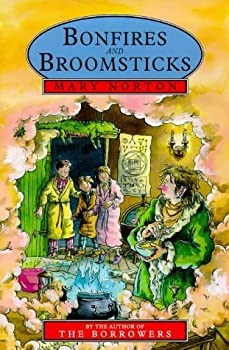 Bonfires and Broomsticks by Mary Norton science fiction and fantasy book and audiobook reviews