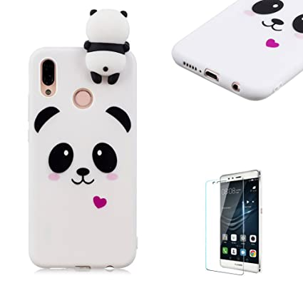 huge discount 53f9c 4bbb7 Amazon.com: Funyye Soft Rubber Case for Huawei P20 Lite,Creative 3D ...