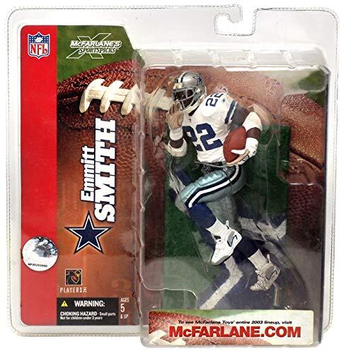 Emmitt Smith #22 Dallas Cowboys White Jersey Variant Chase Alternate Action Figure McFarlane NFL Series 6 by McFarlane Toys by Unknown - Emmitt 22 Jersey Smith