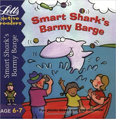 Book Smart Shark's Barmy Barge (Active Readers)