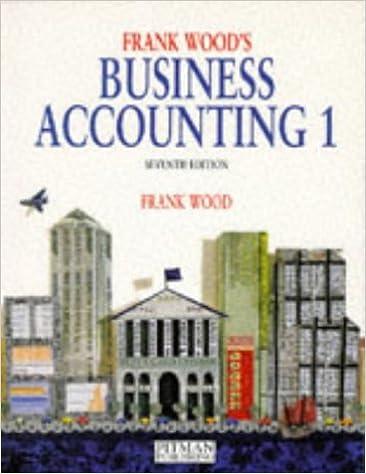 Business Accounting: v. 1: Amazon.co.uk: Frank Wood: 9780273619802