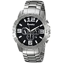 Roots Men's 1R-LF604BA0 Nominigan Analog Display Japanese Quartz Silver Watch