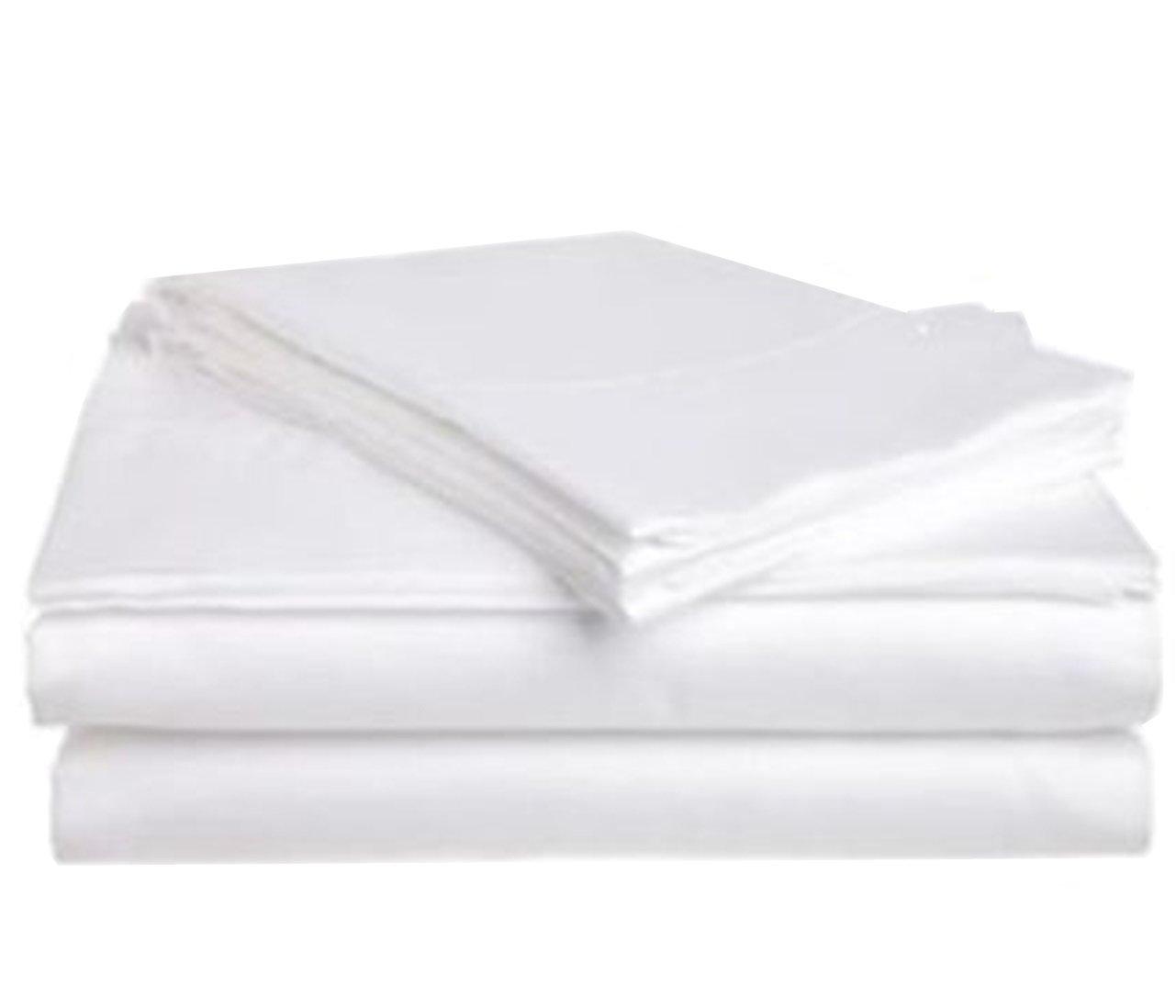 1 NEW WHITE MASSAGE TABLE FLAT DRAW SHEET MUSLIN T130 54X82 TKT-11
