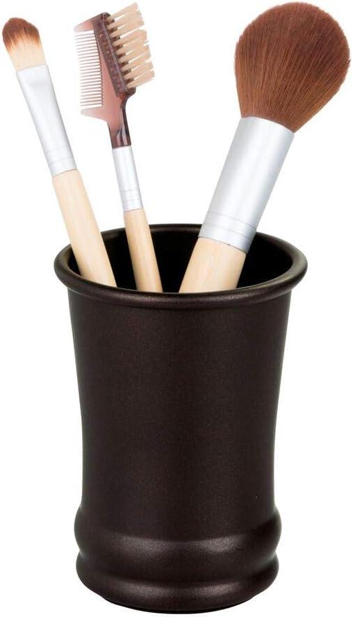 schwarz Fdit 4 Teile//Satz Bad Anzug Zubeh/ör Beinhaltet Tasse Zahnb/ürstenhalter Seifenschale Dispenser Waschbecher Perfekte Dekorative Bad Zubeh/ör