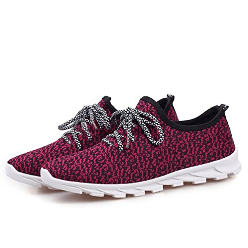 Nuove Sneakers Da Uomo Scarpe Sportive Scarpe Da Corsa Traspiranti Scarpe Da Ginnastica Casual Rosse