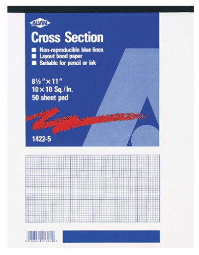 amazon com staedtler r nonphoto cross section drawing paper 10 x