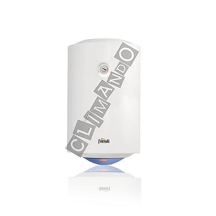 Ferroli Calypso - Calentador de agua eléctrico vertical, 80 litros
