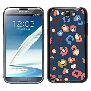 Fossil 41 Black Samsung Galaxy Note 2 N7100 Screen Phone Case Beautiful and Cool Design