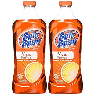 Spic and Span Sun Fresh Multi-Surface Cleaner 28-Ounces (2-Pack)