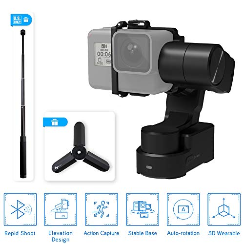FeiyuTech Feiyu WG2X Splash-Proof 3-Axis Wearable Gimbal Stabilizer with 360