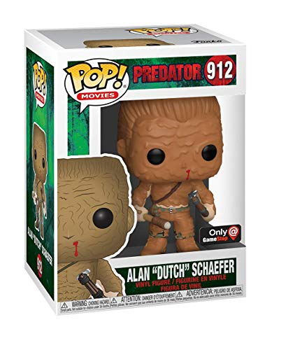 Funko Pop Predator Alan Dutch Shaefer Escena final Muddy Exclusivo