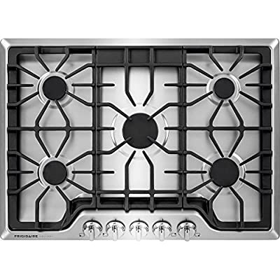 "Frigidaire FGGC3047QS 30"" Gas Cooktop, Stainless Steel"