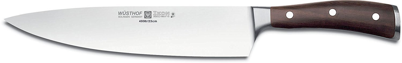 Wusthof Ikon 9-inch Cook's Knife Blackwood