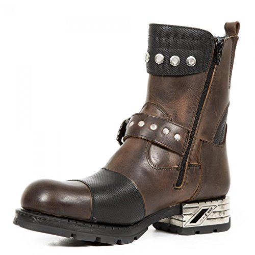 New Rock Handmade M MR038 C3 Braun Herren Stiefel