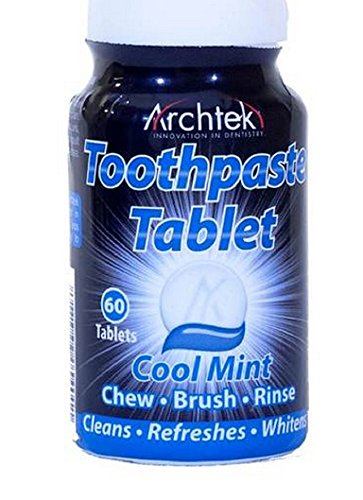Archtek Toothpaste Tablets Cool Mint 60 ct (Pack of ()