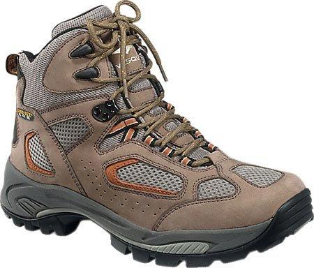 Vasque Men's Breeze GTX Hiking Boot,Taupe/Burnt Orange,8 W US