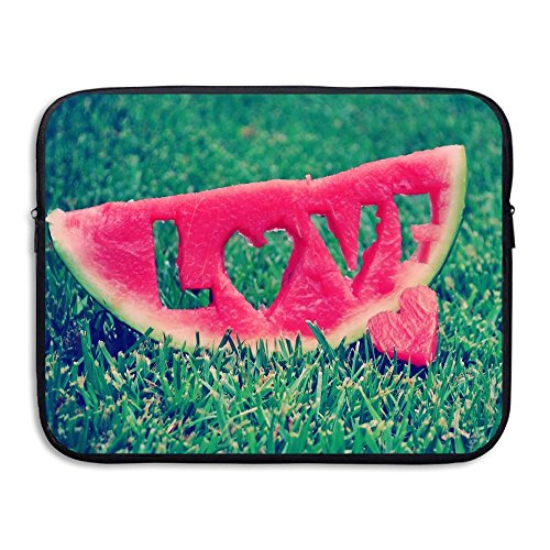 Reteone Laptop Sleeve Bag Love Carved In Watermelon Cover Computer Liner Package Protective Case Waterproof Computer Portable -